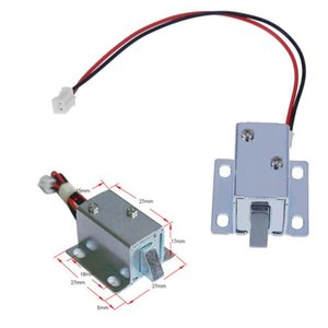 Cheap s Mini 6V 12V Small Electromagnetic Electric Magnetic Door Lock Control Cabinet Drawer Cabinet Door Lock Assembly Solenoid Lock