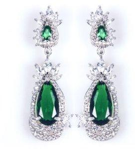 Qualität des niedrigen Preises Großhandels2pcs / lots Diamant-Schmuck aus Stein Dame earings (28.6er