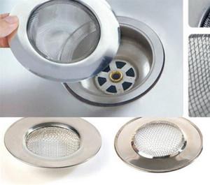 Accesorios de cocina de pelo Catcher tapón de drenaje de acero inoxidable Bañera Ducha Agujero Trampa filtro colador de alambre de metal del fregadero cuarto de baño