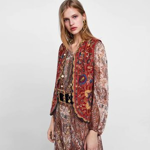 KIYUMI Women Coat Shawl Flannel Floral Embroidered 2019 Fashion V-neck Red Short Cardigan Casual Female Early Autumn Coat Stitch