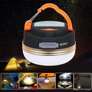 Mini portátil camping luzes 3W LED Lanterna Camping Tendas lâmpada lâmpada pendurada ao ar livre Caminhadas Noite USB recarregável