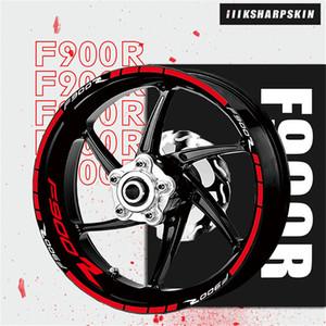 KSHARPSKIN motorcycle sticker waterproof wheel reflective decorative decal moto English kit for BMW F900R f900 r
