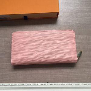 최신 미니 고전 물 리플 여성 가방 여성 진짜 가죽 핸드백 긴 패턴 지갑 클러치 백 카드 가방 및 변경 지갑 지갑