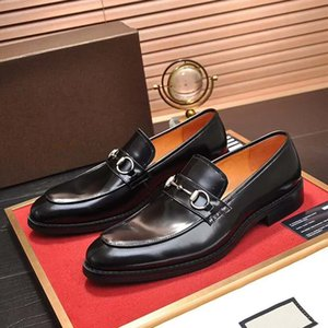 Luxury designer men shoes Italian oxfords flats shoes mens loafers calf leather shoes