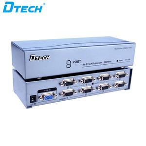 Ücretsiz nakliye Bilgisayar monitörü güvenlik kamerası CCTV fiş ve 1 giriş 8 çıkış 8 port VGA ayırıcı 500MHZ HD 1080P oynamak