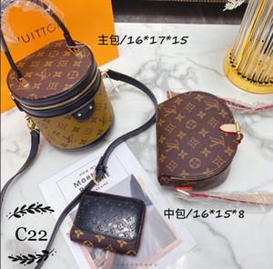 Hot fashion luxury women's printed wallet clutch bag 2020 new retro style ladies versatile messenger bag shoulder bag multi-color optional 0