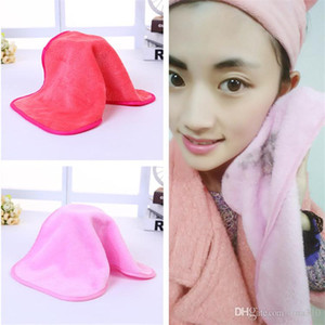 Microfiber Cloth Remover Face Towel Face Wipes Cleansing Cloth Facial Clean Pads Water Towel Tools 2 Colors T1I375