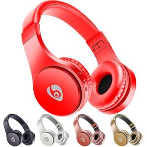 fones de ouvido sem fio S55 Auscultadores desgastando Bluetooth Headset Gaming Stereo Music Apoio TF Com Mic dobrável Headband Melhor Bluedio