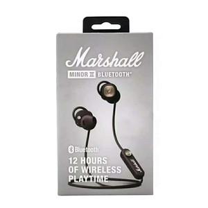 Marshall Minor II Bluetooth auriculares Auriculares Wireless DJ Perfect Sound Auriculares Pausa Magnética Función mejor calidad almacén de la fábrica