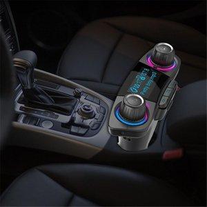 Bt06 Fm Transmitter 2 .1a Fast Car Charger Aux modulatore vivavoce Bluetooth Car Kit Audio Mp3 Player con Smart Charge doppio del Usb