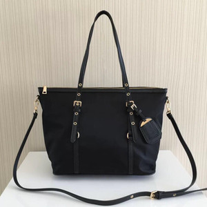 Toptan klasik kadın paraşüt naylon alışveriş çantası su geçirmez oxford kumaş büyük kapasiteli çanta omuz çantası çapraz çanta banliyö