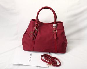 Geldbeutel Mode Frauen Handtasche Plain Thema Freie Verschiffen-Damen Gürteltasche echtes Leder Puppe Kuhfell Damen Handtaschen