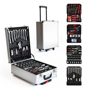 LISM 217 pcs levier matériel outil toolCommercial outils à main matériel kit marteau clé tournevis couteau