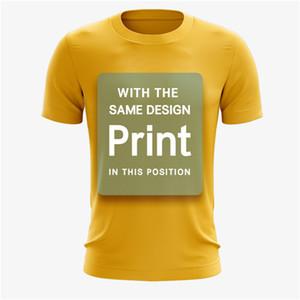 T-shirt homme personnalisé en gros pas cher en gros 100% polyester vierge à séchage rapide T-shirts à impression par sublimation complète grande taille personnalisée XXS-5X