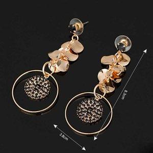Anno Tuba competitivi i prodotti temperamento orecchini di diamanti orecchio Nail Trend Orecchini