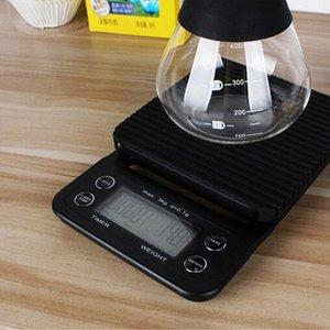 3000 g / 0,1 g de 3 kg / 0,1 g Verter sobre Drip Coffee cocción de alimentos Balanza Peso