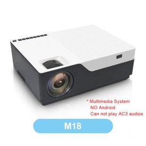 FreeShipping M18 Projector 1080P Разрешение 5500Lumen Android AC3 Опция светодиодный видеопроектор Главная Театр Full HD фильм Beamer