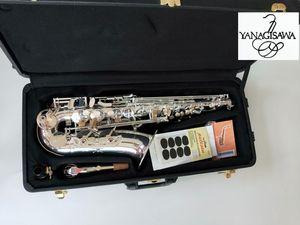 YANAGISAWA alta calidad Japón Alto Yanagisawa W-037 Eb plateado saxofón alto desempeño profesional de instrumentos musicales
