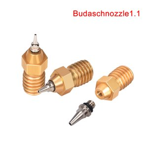 Printing 3D Printer Parts & Accessories High Quality V6 Airbrush Nozzle Brass 0.2 0.3 0.4 0.5MM Adapter Set 1.75 Filament for V6 Hot...