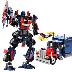 Kinder Intelligenz Montage Boy Toys von Building Block Trans Roboter