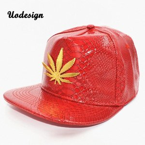 Европа лето Кожа PU шапки для мужчин Женщины Плоский Hip Hop SNAPBACK Caps Путешествия Шляпы Охладить Шляпы Люки Шляпы RhXi #