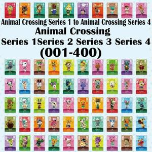 Serie 1 bis Serie 4 (001 bis 400) Tier Kreuzung Karte Amiibo Schlösser nfc-Karte Arbeit für NS Spiele frei zu wählen