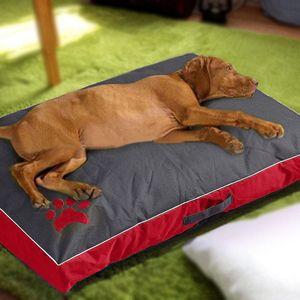 Собака кровать Большой Подушка для больших собак ткань Оксфорд водонепроницаемый Прочный Dog House Pad Портативный Pet Nest диван Одеяло Подушка Кошки