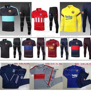Messi de Barcelone Football Hommes Maillots Ensembles Barcelone Espagne Survêtements Atletico Madrid Jersey Griezmann Camiseta de Fútbol formation uniforme
