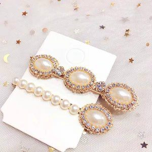 Popular Hairpin Combination Pins Barrette Hair Accessories Female Temperament Pearl Hairclip Bangs Clip Headwear Styling Tools