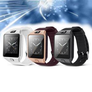 2019 Best Cheap Smart Watch DZ09 With Camera BT WristWatch SIM Card Smartwatch Smart Watch Phone For Samsung Huawei Xiaomi Andriod Phones