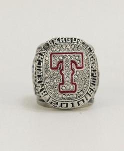 Collezione personale 2.010 anni Texas Ranger Baseball Nazione l'anello di campionato con vetrina da collezionista