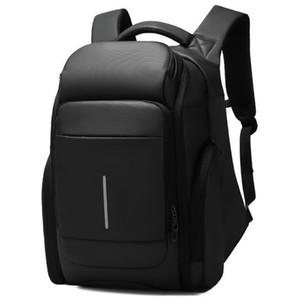Business male travel bag backpack large capacity laptop backpacks casual men bags waterproof high end student schoolbag shoulder handbag