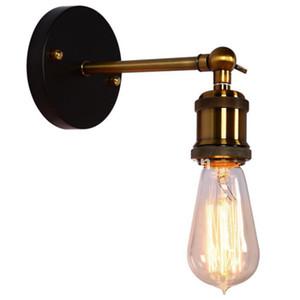10 teile / los Europäischen Pastoralen Retro Indoor Kleine Wandleuchte Kupfer Kopf Beschichtung Kleine Wandleuchte Eingangshalle Dekorative Keine Glühbirne
