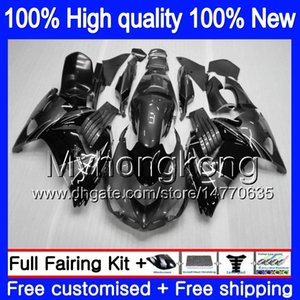 Injection pour KAWASAKI ZX14R ZZR1400 ZX 14R ZZR1400 25MY.129 ZX14R 12 13 14 15 16 17 2012 2013 2014 2015 2016 2017 OEM noir gris Carénage