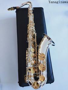 Tenor Saxophone Brand New professionale YANAGISAWA T-9937 Silvering professionale Tenor Sax nichelato caso con Ance collo Bocchino