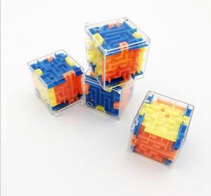 2019 Nuovo di vendita migliori Labyrinth rotolamento cubo magico per bambini e adulti di sforzo del giocattolo dei bambini Ins Magic Square Funny Kids