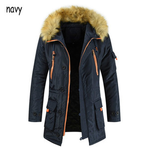 New Arrival Mens Coat Parkas Men Designer Fashion Solid Color Winter Clothing Down Coats Oversize Long Thick Down Coat Plus Size Hot Selling