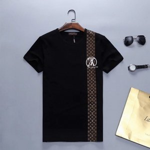 2020 New Designer camisetas Mens roupas de marca Tops Camiseta Verão Tide Braned letras impressas camisa dos homens Luxo Roupa M-3XL