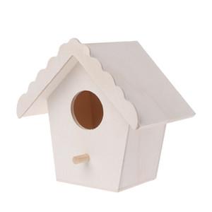 Bird Box Holz Vogelhaus Garten Anderes Dekor Vogelhaus Nest Woodens Nest Haus Andere Vogelbedarf