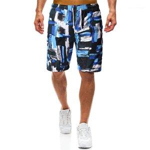 Summer Sport Beach Quick Dry Loose Knee Length Shorts Male Clothing Mens 2020 Luxury Designer Short Pants