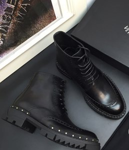 Hot SALE Paris Luxury Mens Casual Shoes Genuine leather Black High Top Trainer Men Fashion Designers Leisure Sneaker With Box