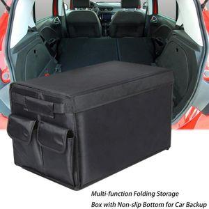 Portable Multi -Compartment 600d Oxford Trunk Storage Organizer Storage Interior Car Holders Foldable Bags