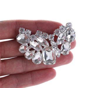 1pcs Shoe Clip Crystal Rhinestone Charm Decoration Metal Material Bridal Wedding Shoes Clips Decorative Shop Shoe Accessories