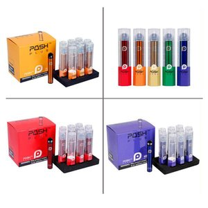 Newest POSH PLUS Disposable Device Kit Vape Pen 280mAh 2.0ml 500Puffs Prefilled Pods Cartridges Starter Kit Disposable Portable e cigs Vapor