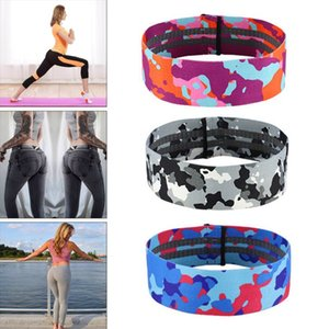 Workout Elastic Bands Unisex Latex Silk Yoga Rally Belt Fitness Squat Hips Exercise Resistance Band