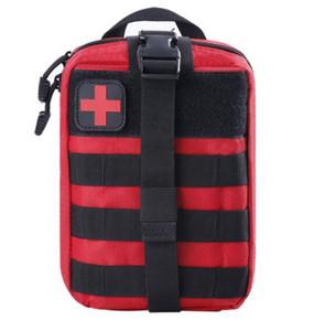 900D Alta Qualidade Bolsa de Sobrevivência Ao Ar Livre Kit Médico Caixa Pacote Tático Primeiros socorros SOS SAOS MOLLE EMT Emergência