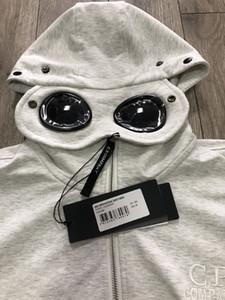 19SS CP Herren Jacken Marke Hoodies Zipper Windjacke Firma Designer Jacken-Sweatshirt der Männer Luxus Mäntel Sonnenbrillen Kapuze beiläufige B103433L