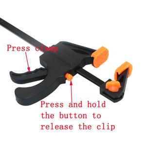 4 인치 빠른 래칫 출시 속도 짜기 목공 클램프 클립 키트 스프레더 가젯 도구 DIY 핸드 일 바