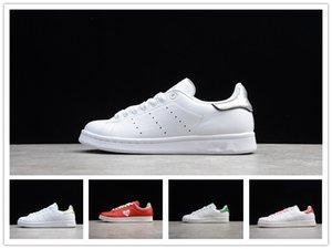 Caldi di vendita 2020 nuovi originali Stan Smith scarpe a buon mercato delle donne degli uomini delle scarpe da tennis di cuoio casuale Superstars Skateboard punzonatura Ragazze Bianche Blu Shoes