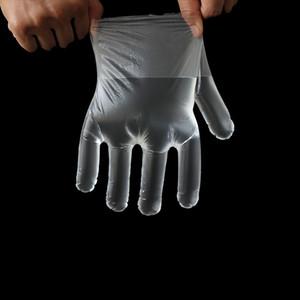 100 шт. / пакет пластиковые одноразовые перчатки приготовление пищи перчатки для кухни кулинария чистка обработка пищевых продуктов кухонные принадлежности латекс MMA3366